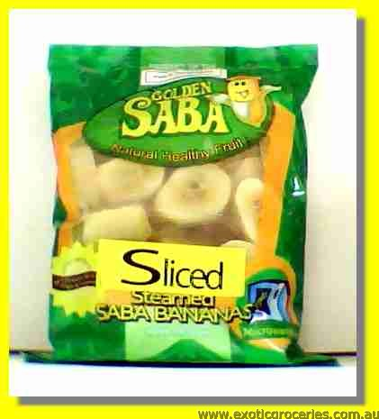 Frozen Sliced Steamed Banana