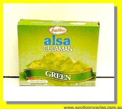 Gulaman Unflavored (Green)