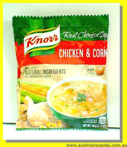 Chicken And Corn Real Chinese Soup