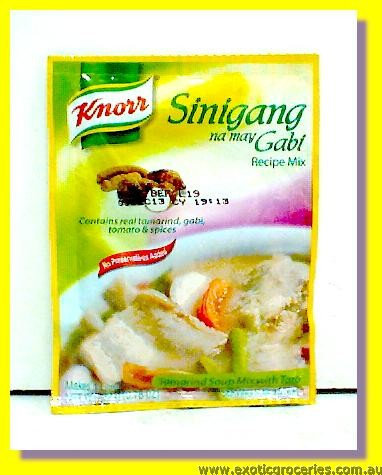 Tamarind Soup Mix with Taro Sinigang Na May Gabi Mix