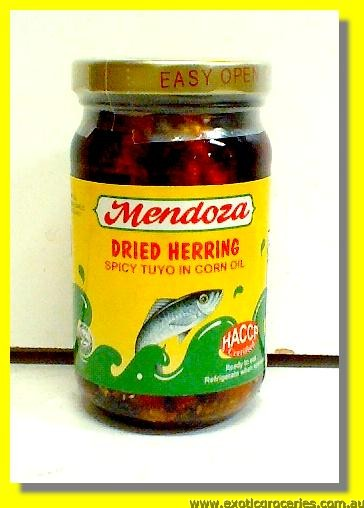 Dried Herring Spicy Tuyo in Corn Oil
