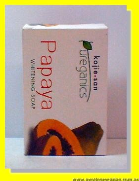 Pureganics Papaya Whitening Soap