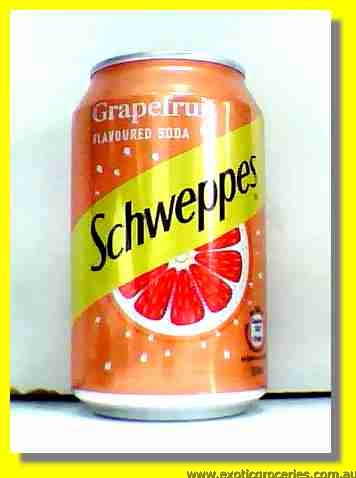 Grapefruit Flavoured Soda Lightly Sparkling