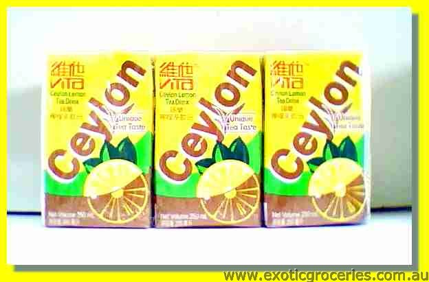 Ceylon Lemon Tea Drink 6packs
