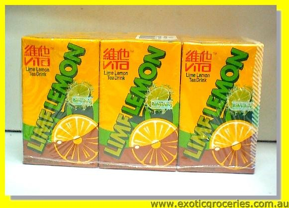 Lime Lemon Tea Drink 6pkts