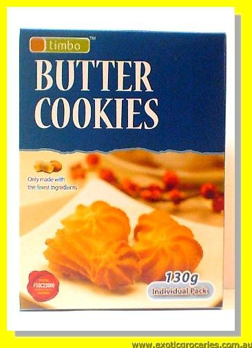 Butter Cookies Individual Pack