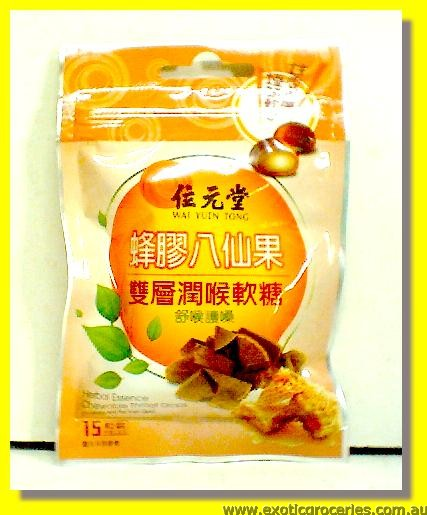 Propolis & Ba Xian Guo Herbal Essence Chewable Throat Drops