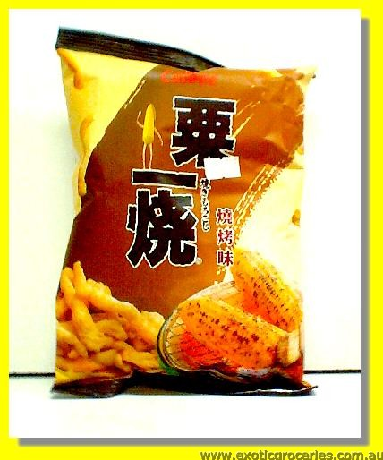 Aromatic Grilled Corn Stick Barbecue flavored