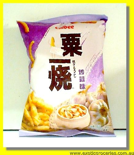 Aromatic Grilled Corn Stick Fried Garlic Flavour