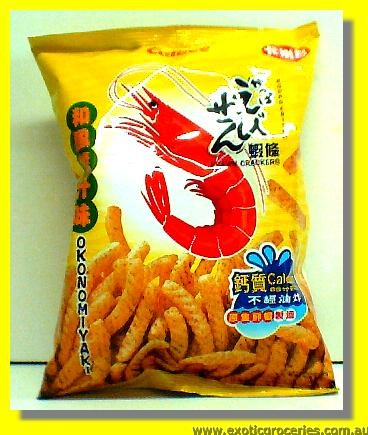 Prawn Crackers Japanese Okonomiyaki Flavour