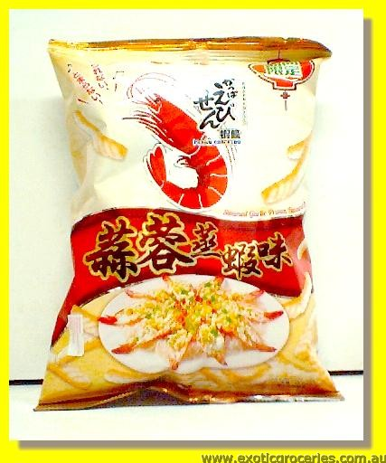 Steamed Garlic Prawn Flavour Prawn Crackers