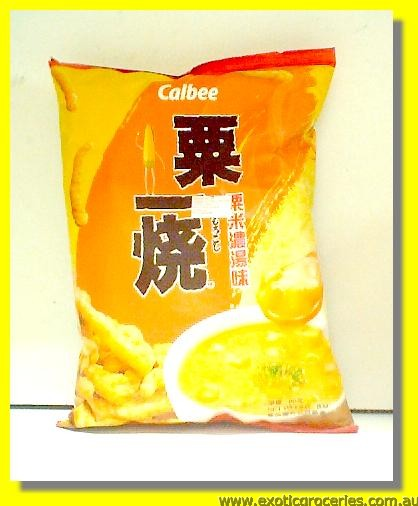 Aromatic Grilled Corn Stick Corn Potage Flavoured
