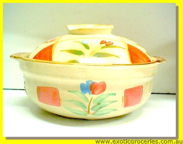 Japanese Style Clay Pot 20cm #7 (POT12B)