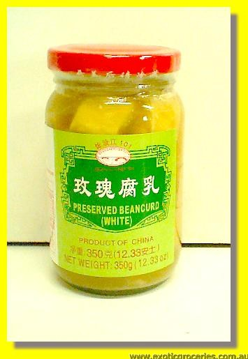 Preserved Bean Curd (White)
