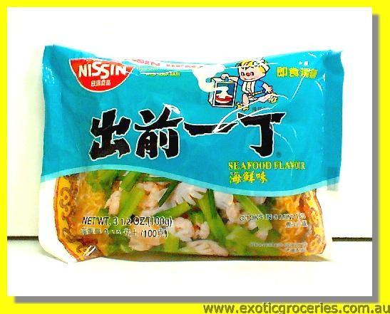 Instant Noodle with Seafood Flavor