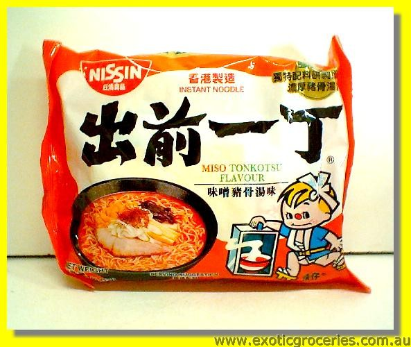 Miso Flavor Instant Noodle with Soup Base