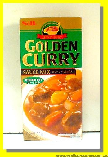 Golden Curry Sauce Mix Medium Hot