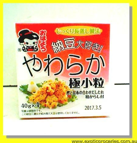 Frozen Natto 4layers