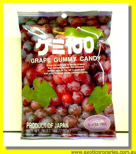 Grape Gummy
