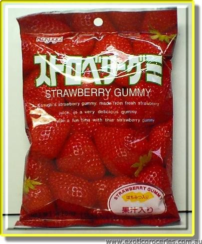 Strawberry Gummy