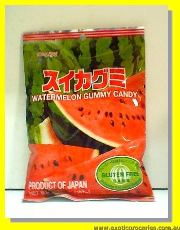 Watermelon Gummy Candy Gluten Free