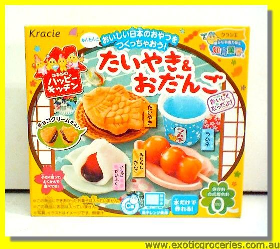 Happy Kitchen Taiyaki & Odango Candy Kit