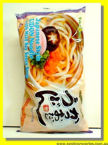 Katsuo Dashi Udon 3servings Japanese Style Udon Noodle with Mild