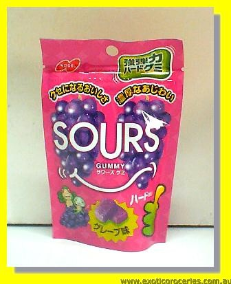 Sours Grape Gummy Candy