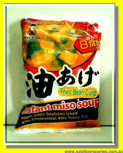 Instant Miso Soup Fried Beancurd 8 Servings
