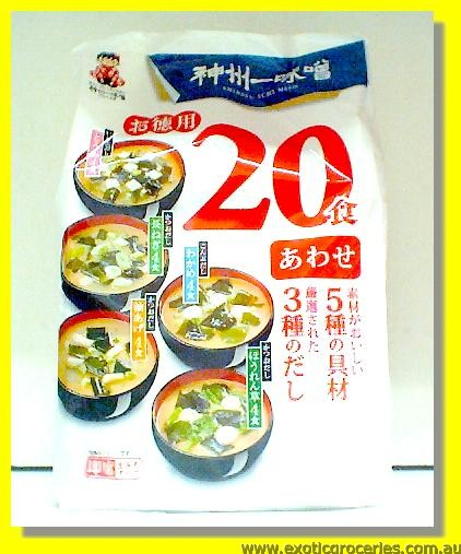 Instant Miso Soup 20Servings