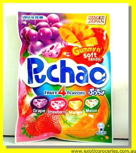 Puchao Fruit Gummy 4 Flavours