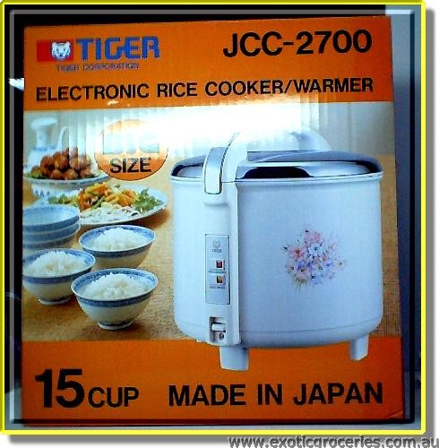 JCC-2700 15 Cup Rice Cooker Pure Flower Colour
