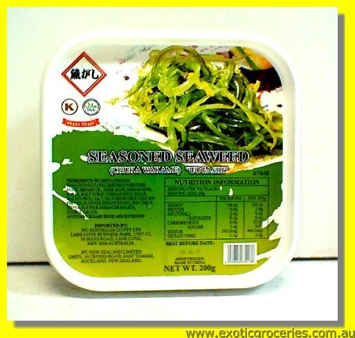 Frozen Seasoned Seaweed (Chuka Wakame)