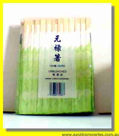 Disposable Wooden Chopsticks 100pairs