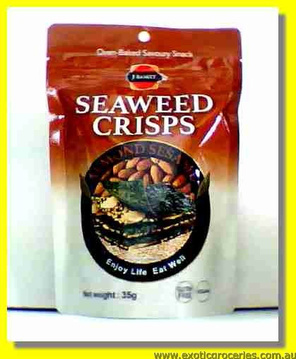 Seaweed Crisps with Almond Sesame