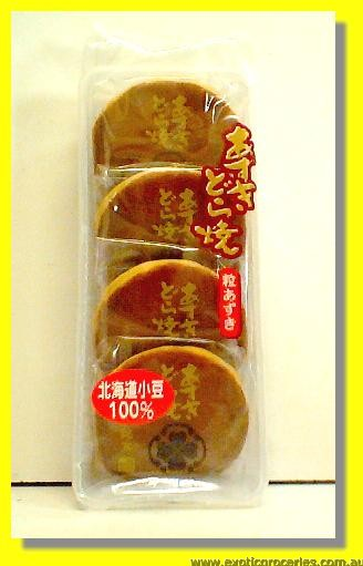Red Bean Cake 4pcs