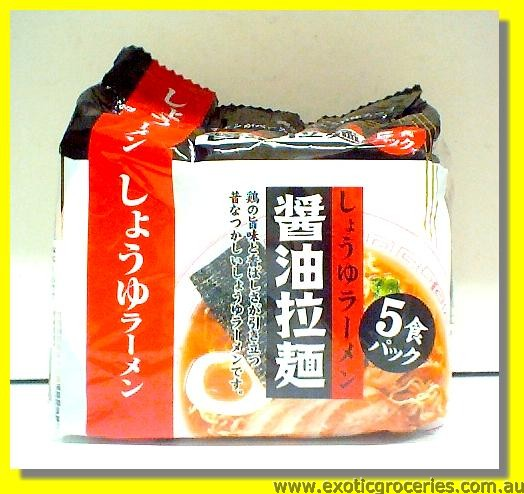 Instant Shoyu Ramen 5packs