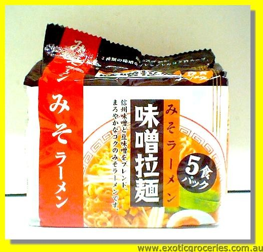 Instant Miso Ramen 5packs
