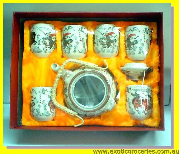 7pcs Tea Set E339