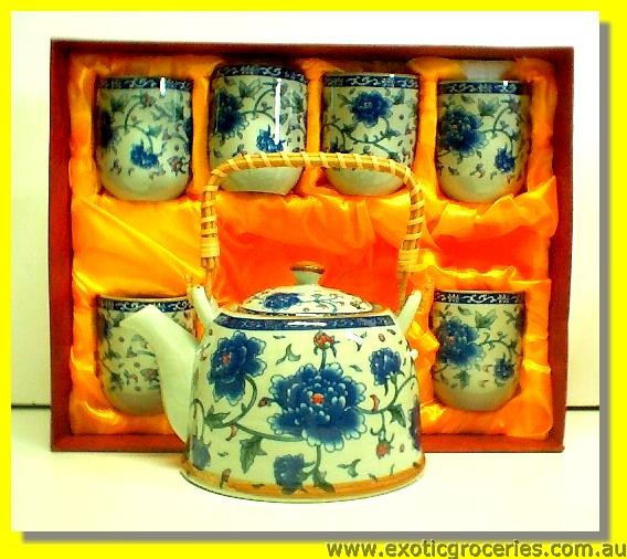 7pcs Tea Set E342
