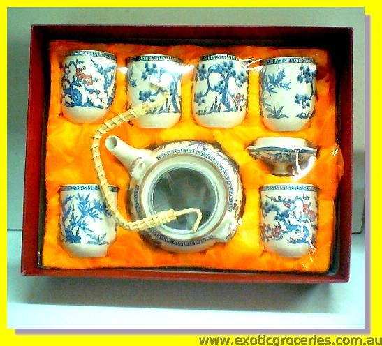 7pcs Tea Set E350