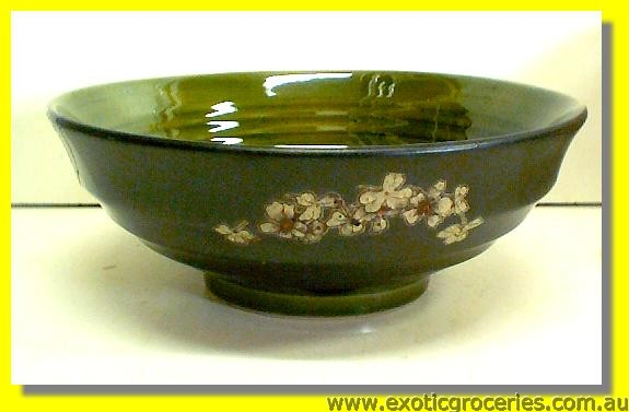 "Japanese Style Green Bowl 9.5"" (TBG09)"
