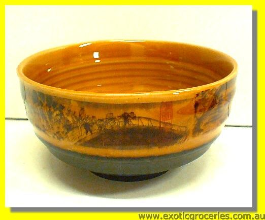 Qing Ming Ceramic Bowl 5.75""