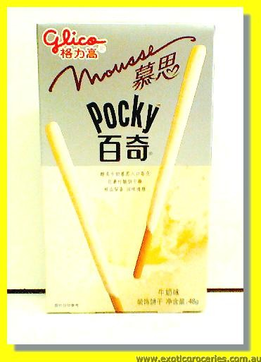 Pocky Milk Mousse Flavoured Biscuits