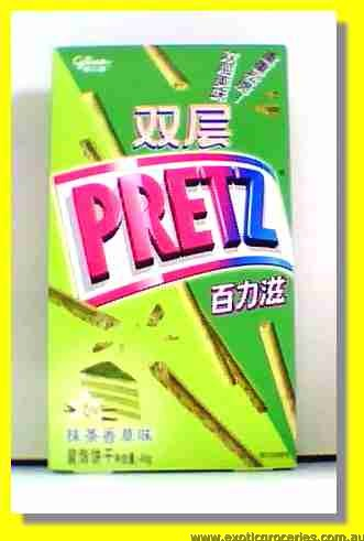 Double Pretz Green Tea Flavoured