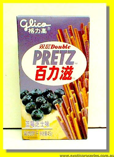 Double Pretz Blueberry Cheese Flavoured