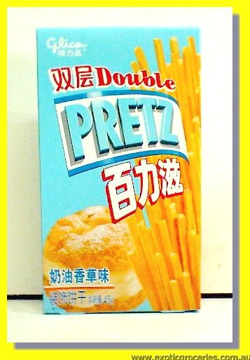 Pretz Biscuit Sticks Vanilla Cream Flavour