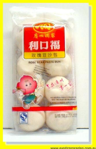 Rose Bean Paste Bun 8pcs