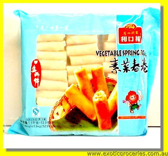 Vegetable Spring Roll 100pcs