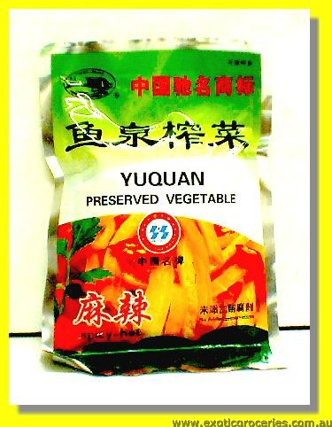 Preserved Vegetable Spicy Hot